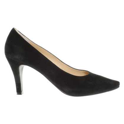 Unützer Wild leather pumps in black