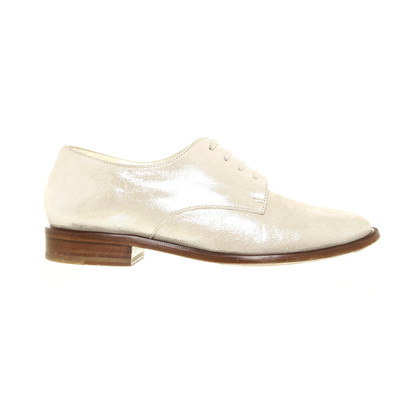 Robert Clergerie Lace-up shoes with silver shine