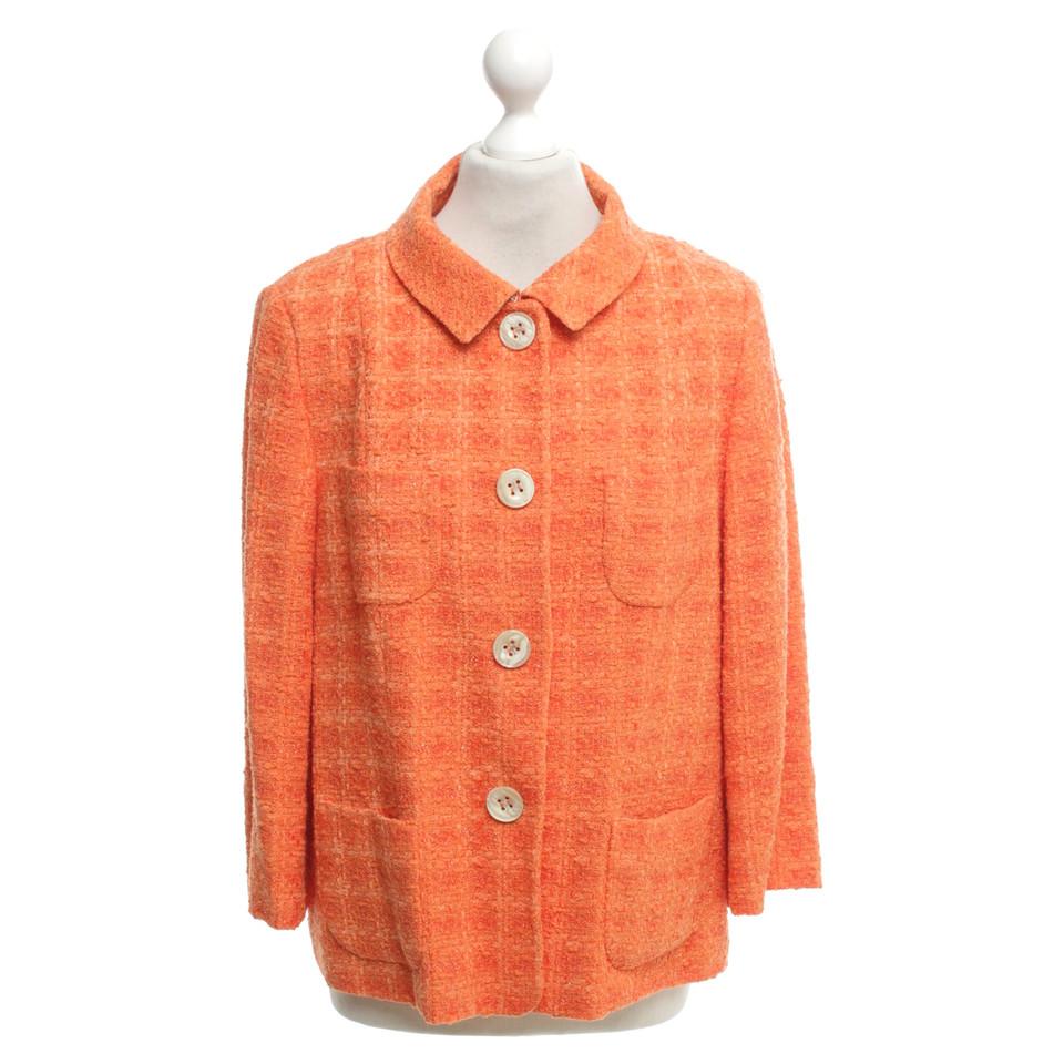 Bogner Sônia Bogner - Bouclé-Blazer in Orange
