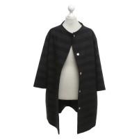 Bogner Manteau avec motif rayé