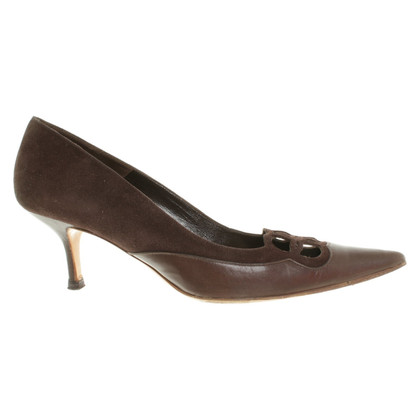 Valentino pumps in dark brown