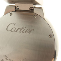 Cartier Armbanduhr in Silberfarben