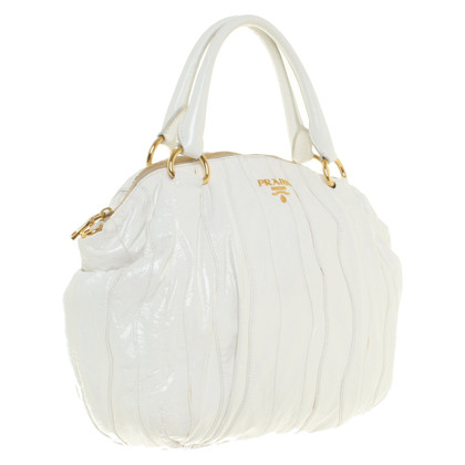 Prada Handbag in white
