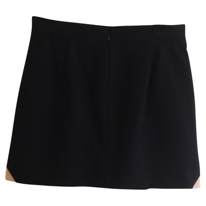 Maje skirt in black/pink