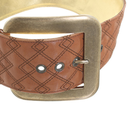 Dolce & Gabbana Brown leather belt
