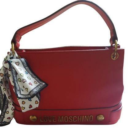 Moschino Love Handtasche und Tuch