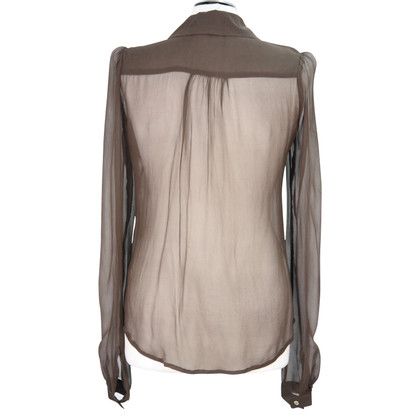 French Connection Silk top in brown