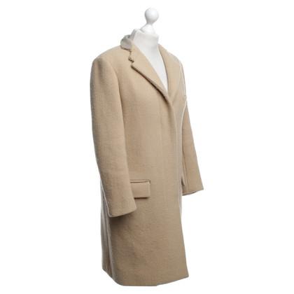 Chloé Cappotto in lana beige