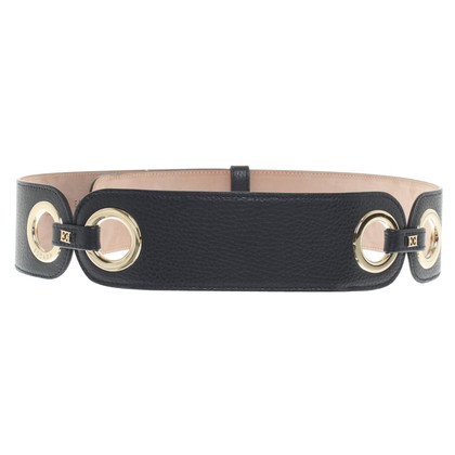 Escada Leather belt in blue