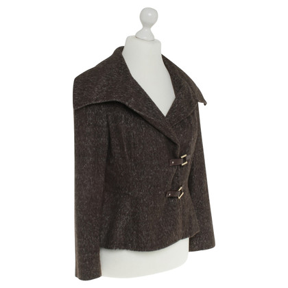 Carolina Herrera Jacket in brown / cream