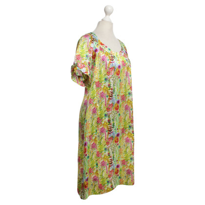 Other Designer 0039 Italy - Silk dress with pattern