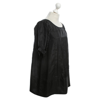 Tara Jarmon Silk blouse in black