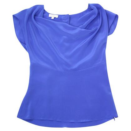 Hobbs Camicia di seta in blu