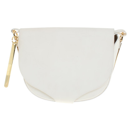 Sophie Hulme Shoulder bag in white