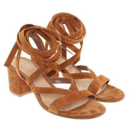 Gianvito Rossi Sandals with ankle straps