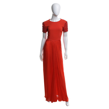 Matthew Williamson Maxi Dress a Orange
