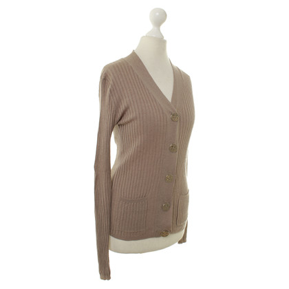 Dear Cashmere Cardigan in ochre