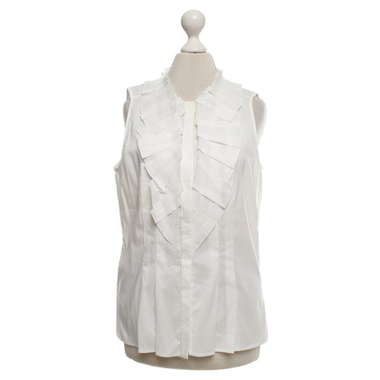 Hugo Boss top in white