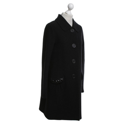 Blumarine Coat in zwart