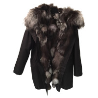 Yves Salomon Parka with Fox fur trim