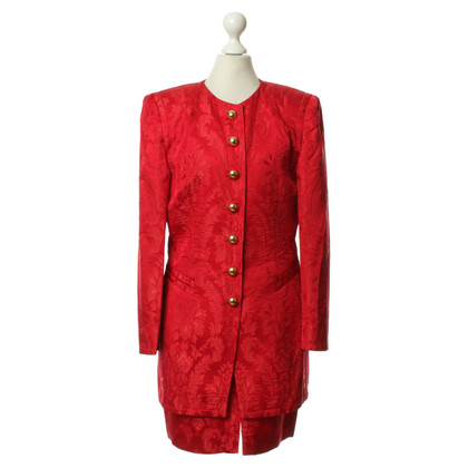 Rena Lange Costume in rosso