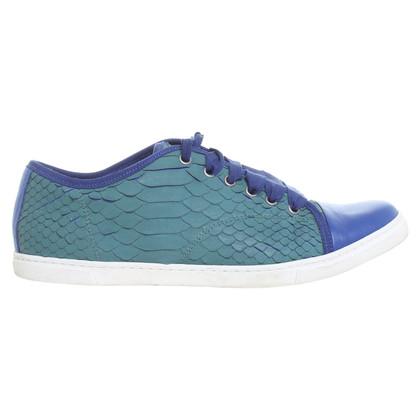 Lanvin Tweekleurige sneakers