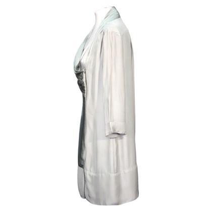 Reiss Asymmetrisches Kleid in Grau