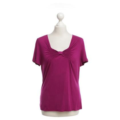 Armani Collezioni T-Shirt in Fuchsia