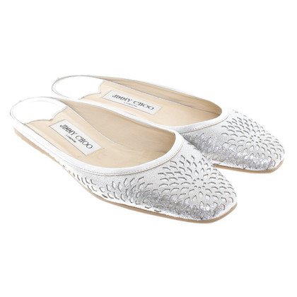Jimmy Choo Slipper con glitter