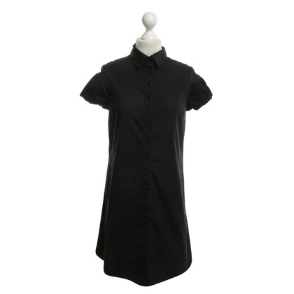 Moschino Shirt Dress in Black