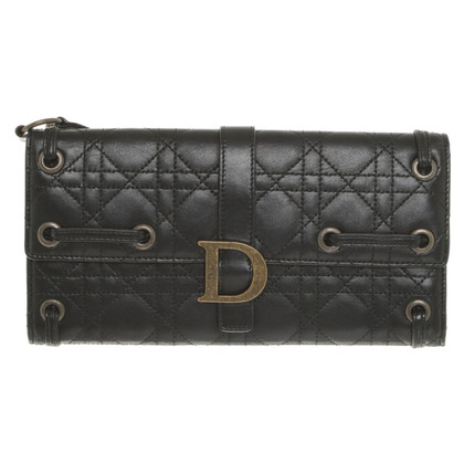 Christian Dior Clutch in Schwarz
