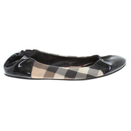 Burberry Ballerinas from material mix