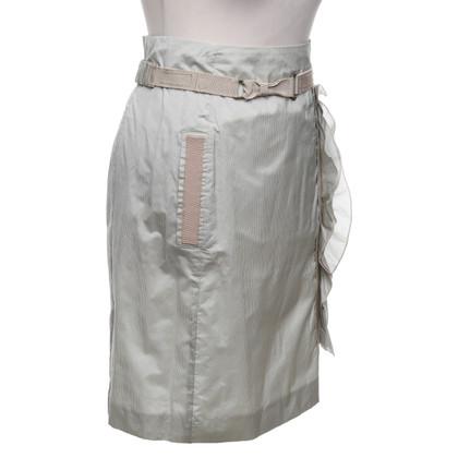 Schumacher skirt with stripes pattern