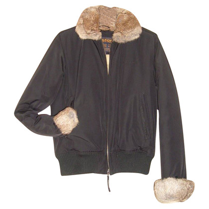 Woolrich Bomber jacket with fur trim
