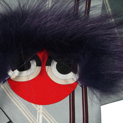 Fendi Monster Seidentuch