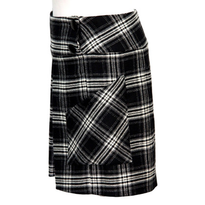 French Connection Checked skirt