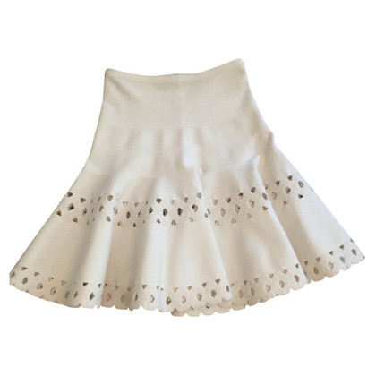 Alaïa gored skirt