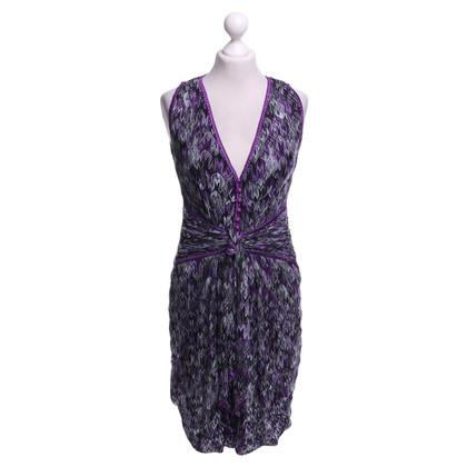 Missoni Vestito in viola / grigio chiaro