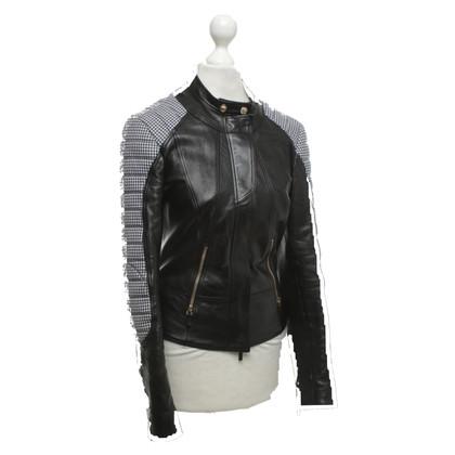 Versace Veste courte en style biker