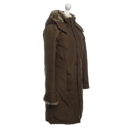 Woolrich Coat with rabbit fur