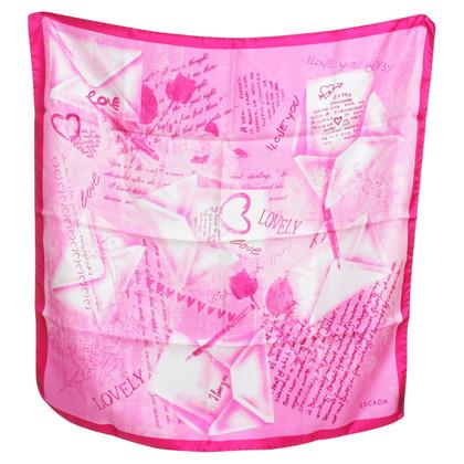 Escada Silk scarf in pink