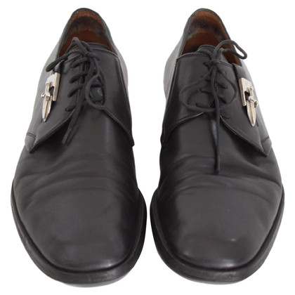 Cesare Paciotti Cesare Paciotti black leather shoes