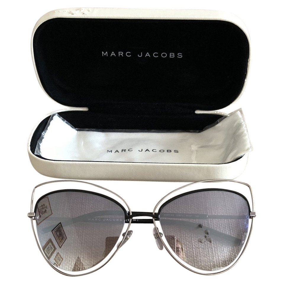 marc jacobs verspiegelte sonnenbrille second hand marc. Black Bedroom Furniture Sets. Home Design Ideas