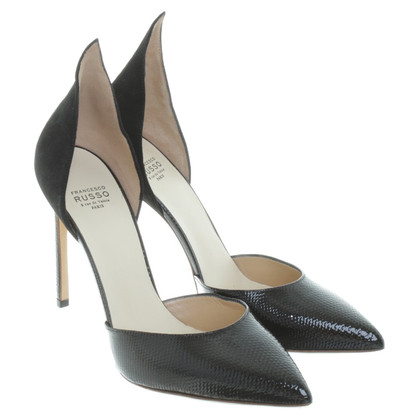 Francesco Russo pumps in zwart