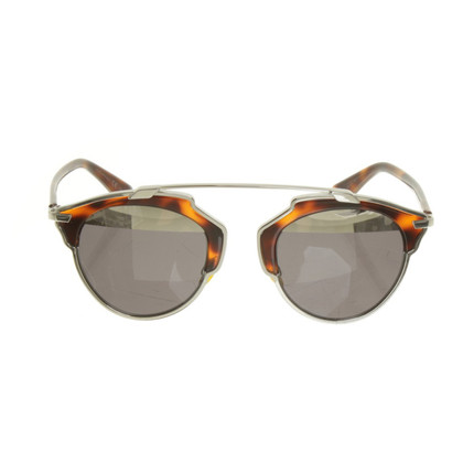 Christian Dior Sonnenbrille im Piloten-Stil