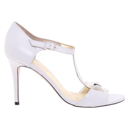 Guido Maria Kretschmer Sandals in white