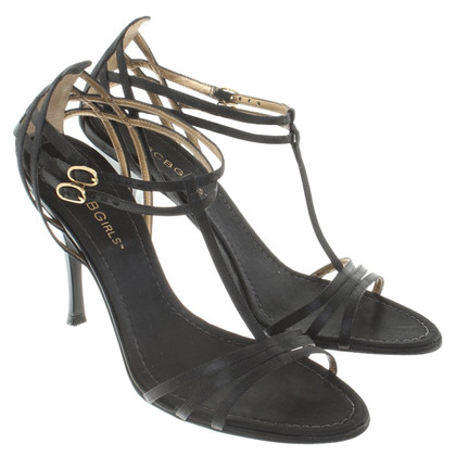 BCBG Max Azria Satin pumps in nero
