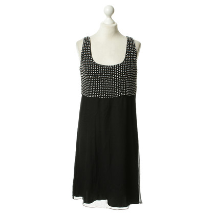 Armani Collezioni Silk dress with beaded trim