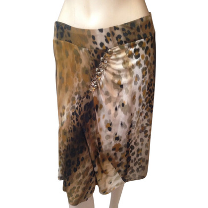 Blumarine leopard Skirt
