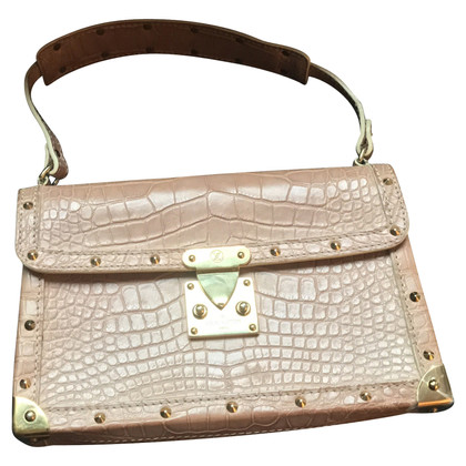 "Louis Vuitton ""Suhali L'Aimable"" made of crocodiles"